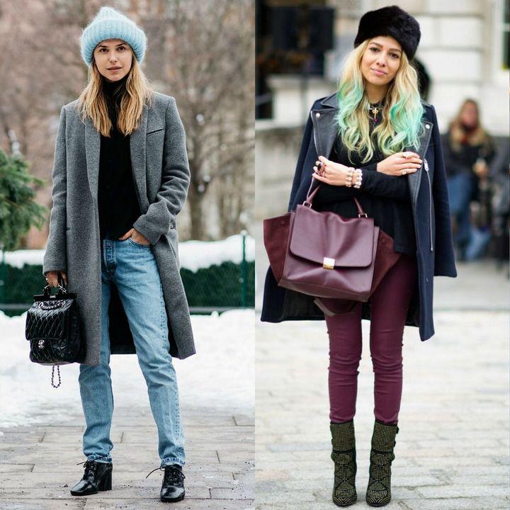 Tinute de iarna 2017 pentru femei