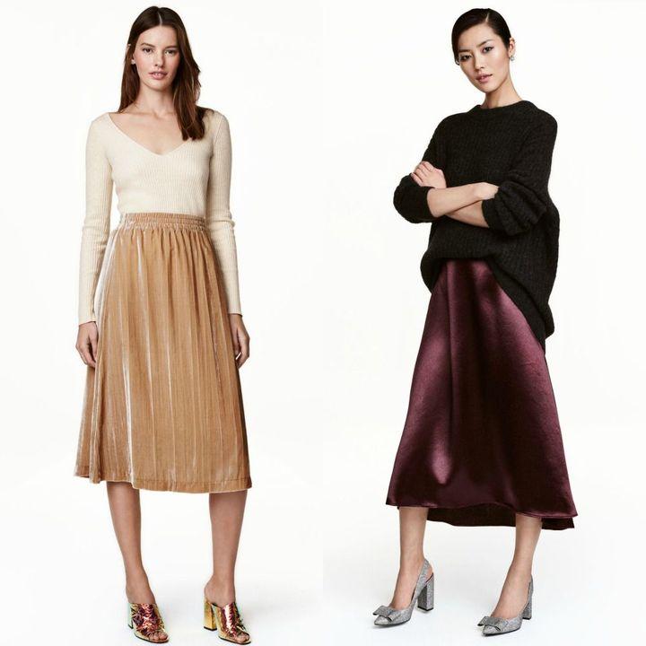 Fuste elegante femei la moda iarna