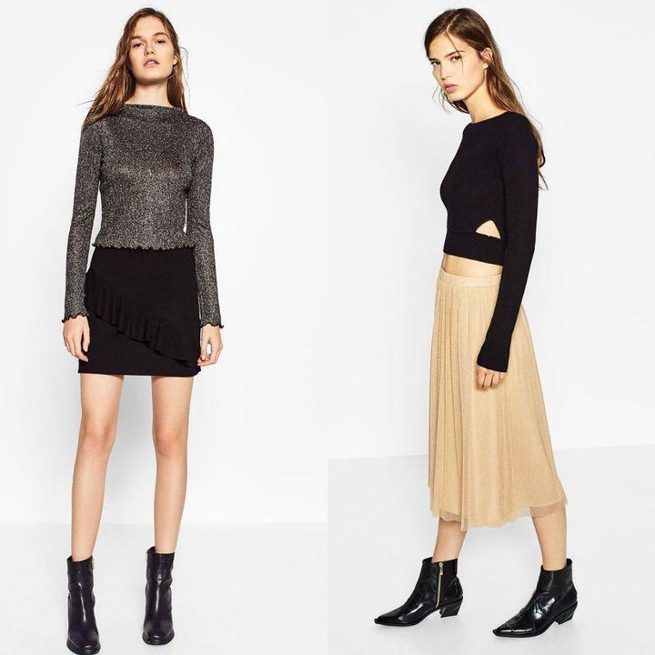 Fuste la moda iarna 2018-2019 ieftine