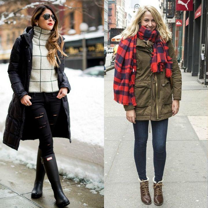 Moda strazii pentru tinute de iarna dama
