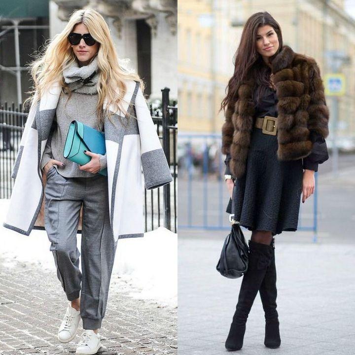 Moda strazii pentru tinute de iarna