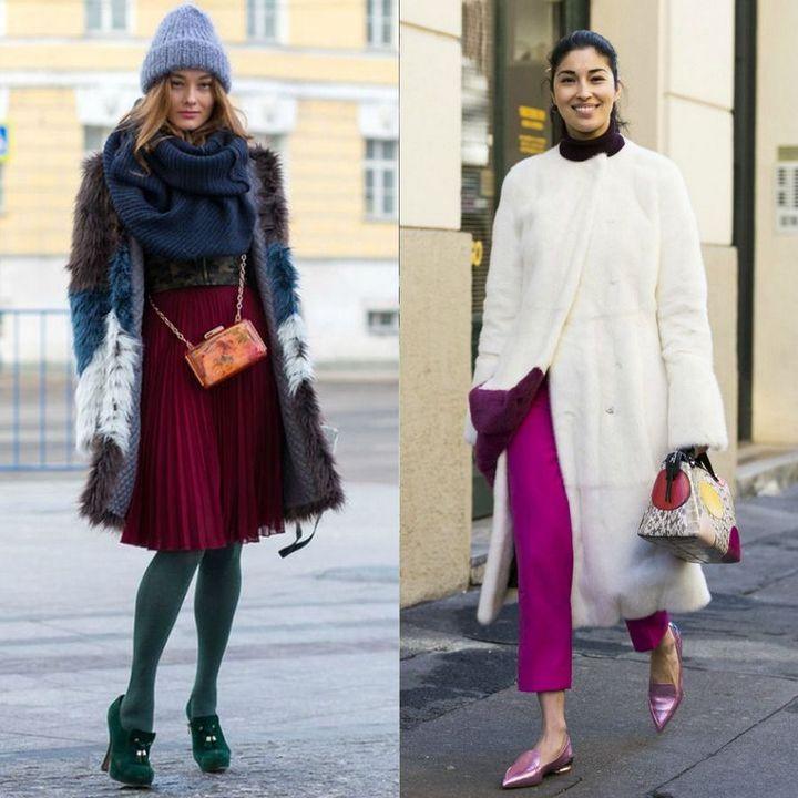 Moda strazii pentru tinute de iarna pentru femei