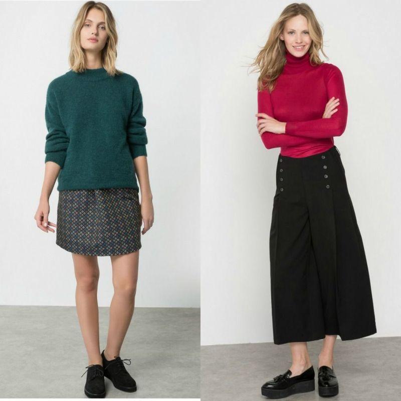 Modele de pulovere tricotate dama