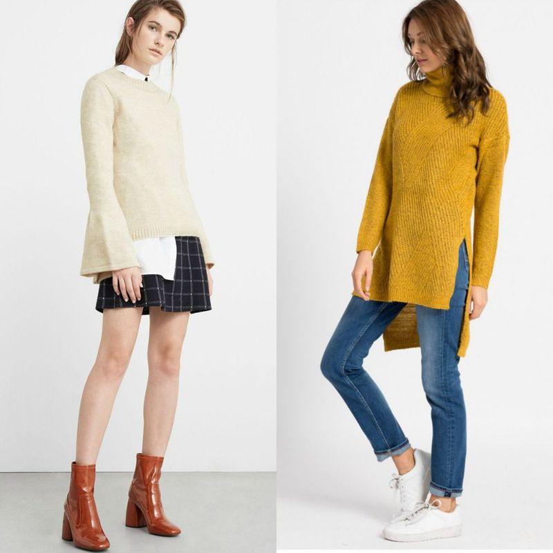 Modele pulovere tricotate