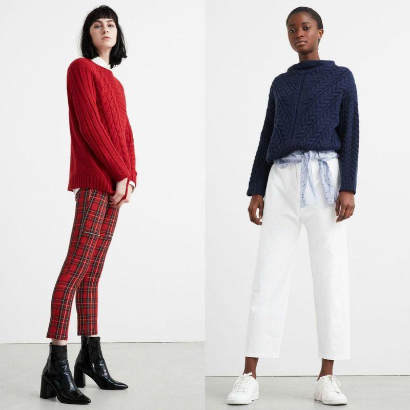 Modele pulovere tricotate femei