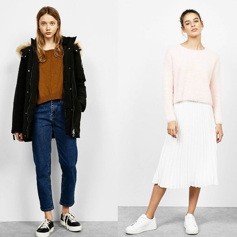 Modele pulover scurt