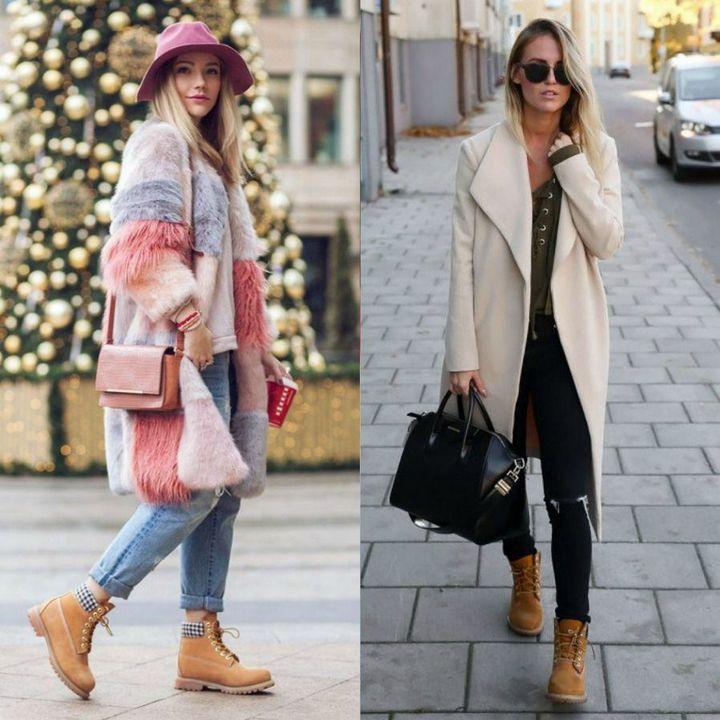Tinute de iarna cu cizme pentru femei
