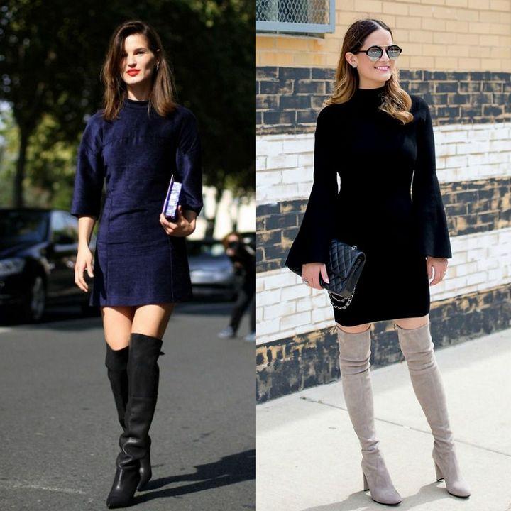 Modele de rochii dama pentru iarna