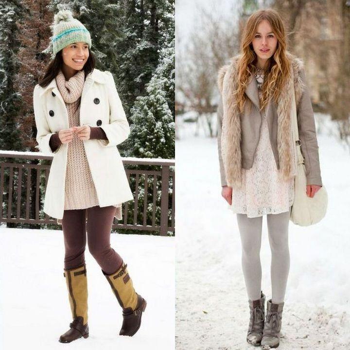 Tinute dragute de iarna pentru fete