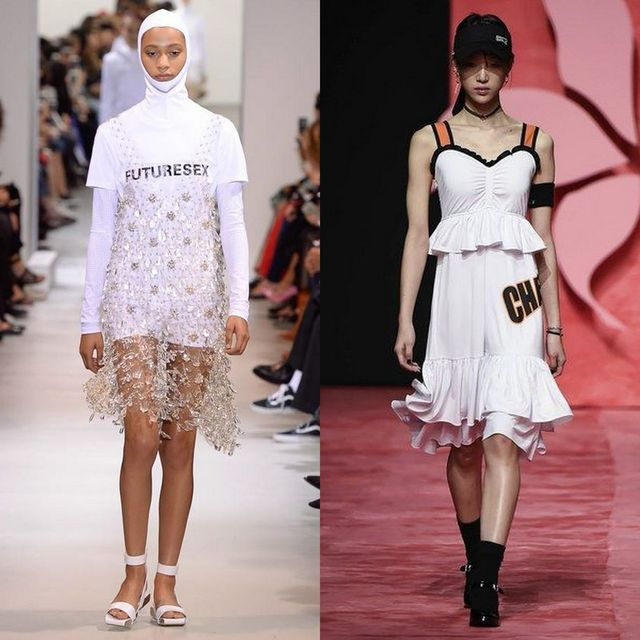 Moda rochii 2017 pentru rochii cu sloganuri