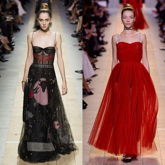 Rochii cu sloganuri Christian Dior