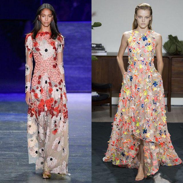 Moda rochii inflorate