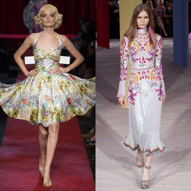 Moda rochii inflorate deosebite