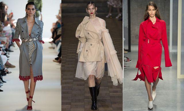Trenciuri la moda primavara vara 2017