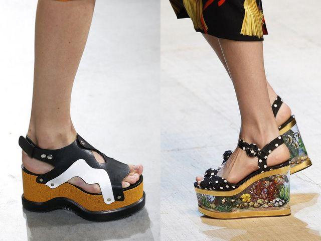 Sandale cu platforme