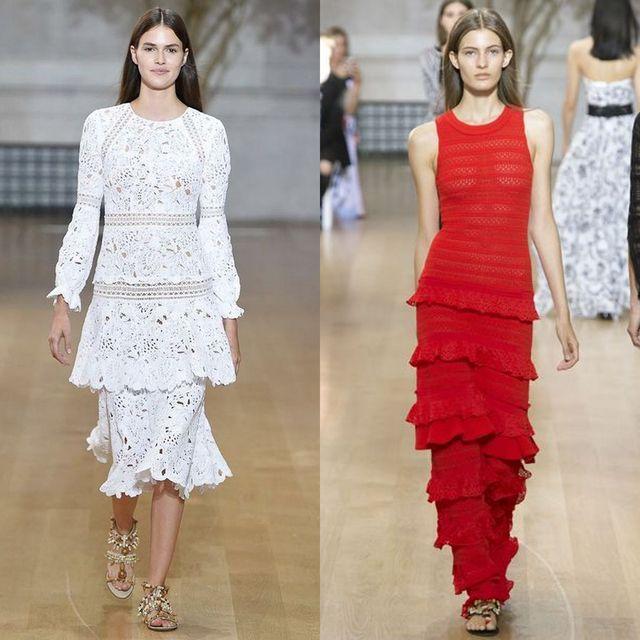 Moda rochii primavara 2017 | Rochii crosetate pentru femei