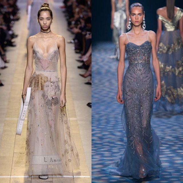 Moda rochii primavara 2017 | Rochii lungi din dantela