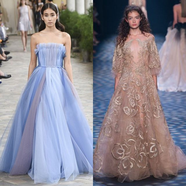 Moda rochii primavara 2017 | Rochii de seara in stil printesa