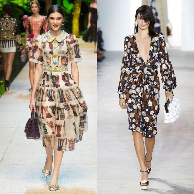 Moda rochii primavara 2017 | Rochii de zi