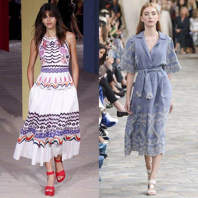 Moda rochii primavara 2017 | Rochii de zi pentru femei