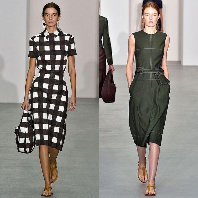 Moda rochii primavara 2017 pentru rochii de zi dama