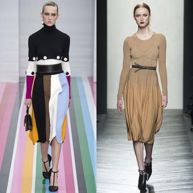 Rochii tricotate la moda 2017 | Rochii cu maneca lunga
