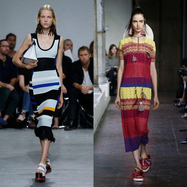Rochii tricotate la moda