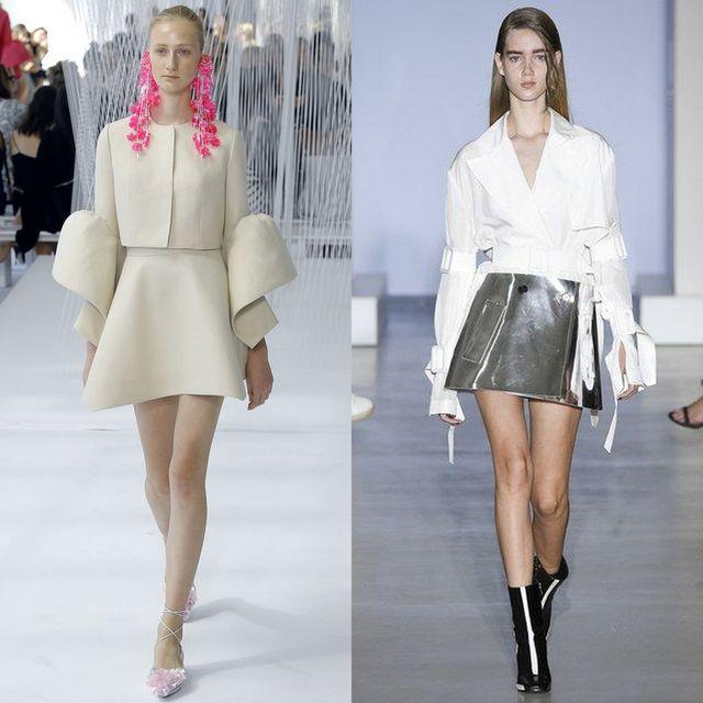 Fusta clopot la moda primavara vara 2017