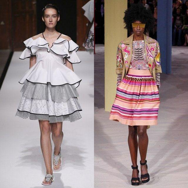 Fusta clos la moda primavara vara 2017