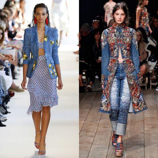 Moda jachete si geci dama primavara 2017 | Geci de blugi dama