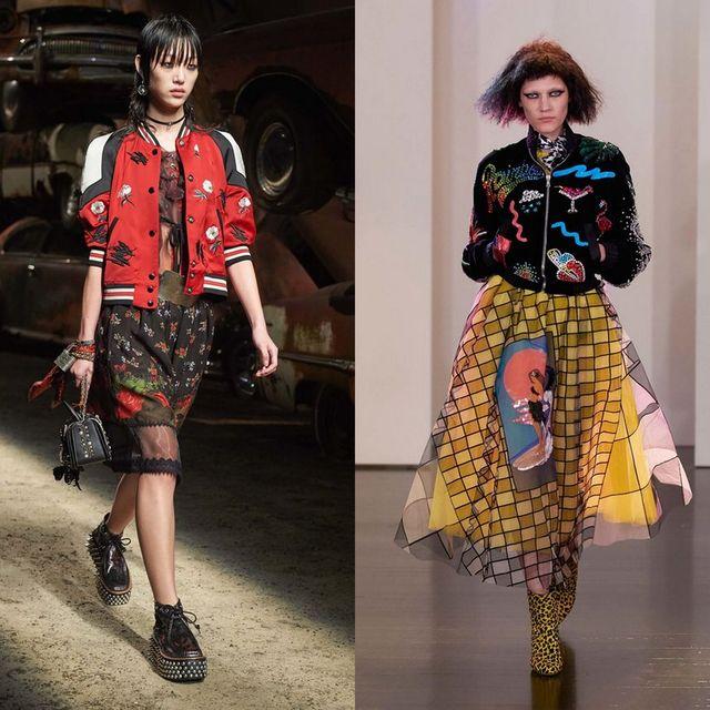 Moda jachete si geci dama primavara 2017 | Geaca bomber