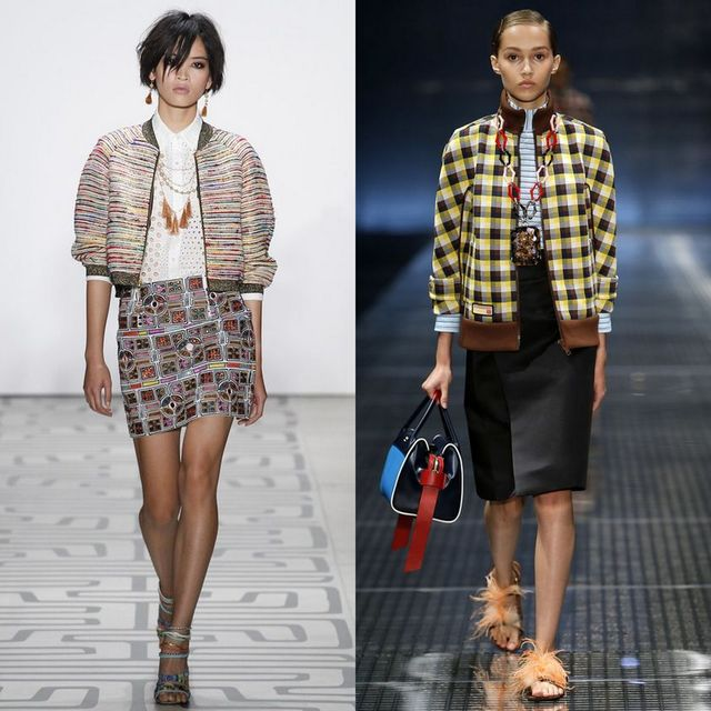Moda jachete si geci dama primavara 2017 | Geaca bomber pentru femei