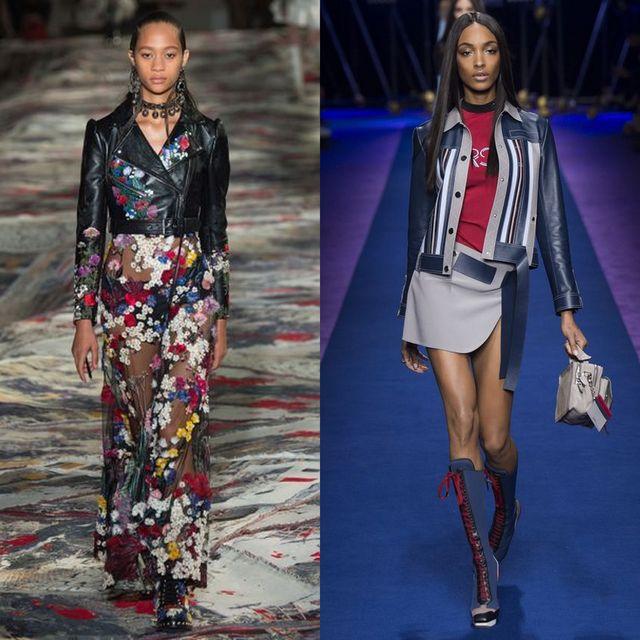 Moda jachete si geci dama primavara 2017 | Geci de piele pentru femei