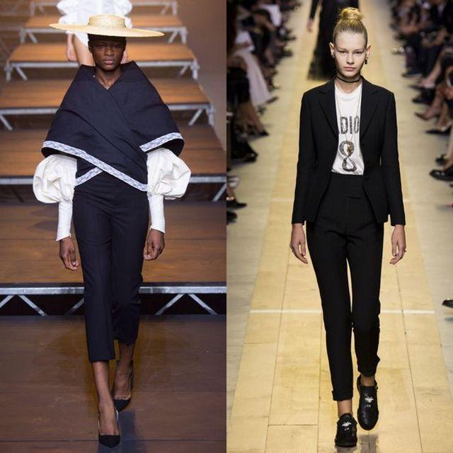 Pantaloni dama cu talie inalta la moda in primavara vara 2017