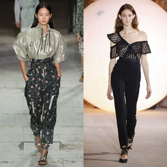 Pantaloni dama cu talie inalta la moda in 2017