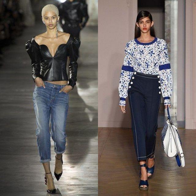 Blugi pentru femei la moda in primavara vara 2017