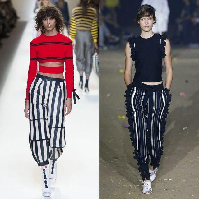 Pantaloni casual la moda primavara vara 2017