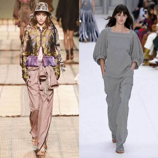 Pantaloni dama eleganti la moda primavara vara 2017