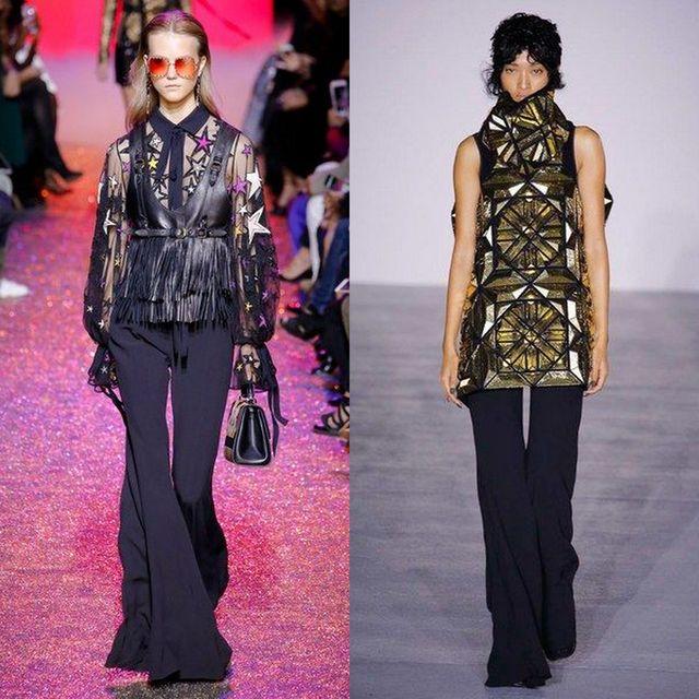 Pantaloni dama evazati la moda in 2017