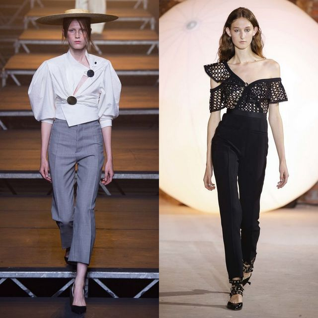 Pantaloni pana la moda primavara vara 2017