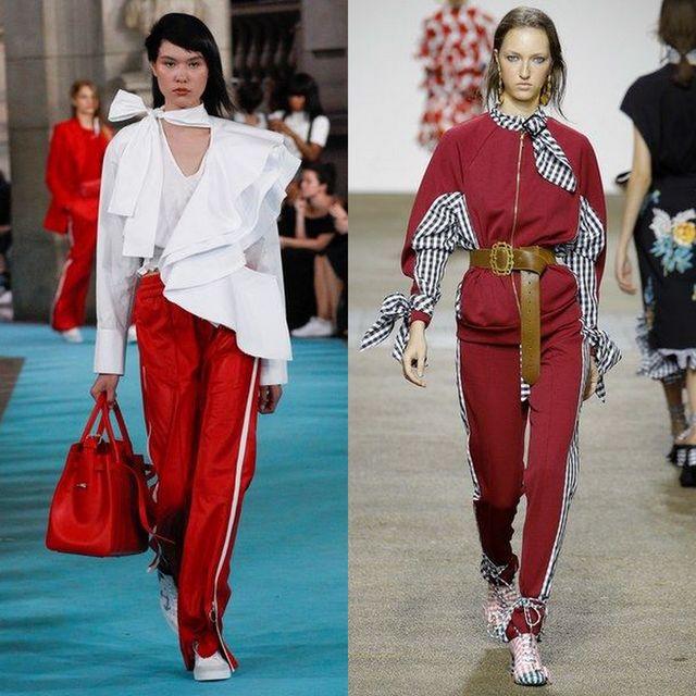 Pantaloni sport la moda primavara vara 2017
