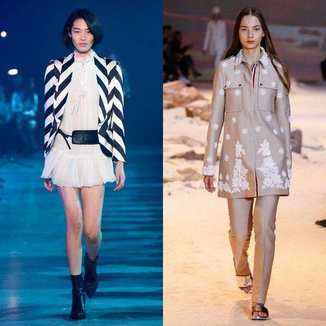 Moda jachete si geci dama primavara 2017 | Sacouri de primavara