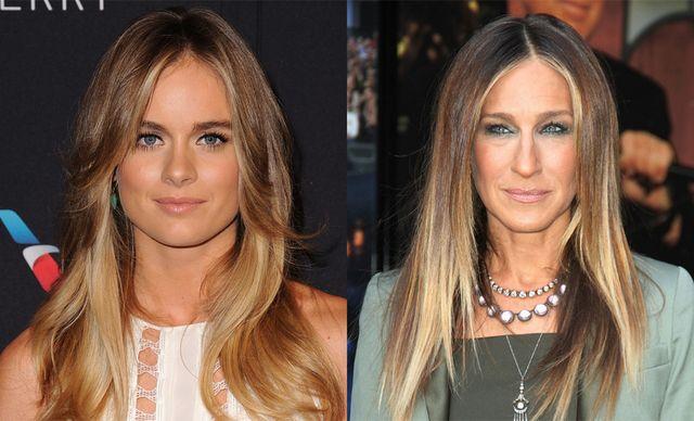 Coafuri femei pentru par lung si drept la moda anul acesta