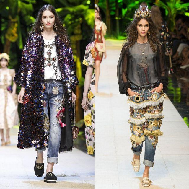 Blugi boyfriend la moda 2017 | Tinute cu blugi