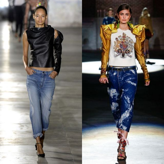 Blugi dama la moda | Tinute dama cu blugi