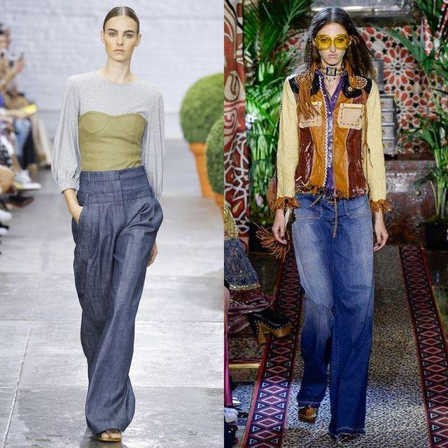 Tinute cu blugi largi | Blugi la moda 2017