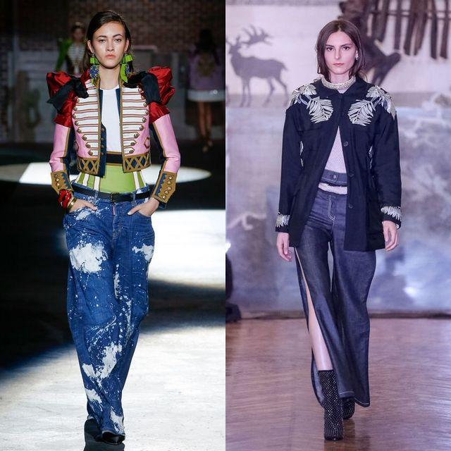Blugi dama largi | Blugi la moda 2017