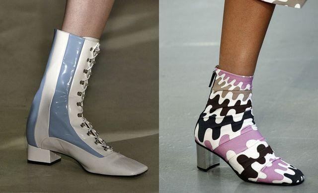 Moda pentru botine si cizme de primavara 2017 | Botine femei