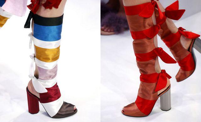 Moda cizme cu toc primavara 2017