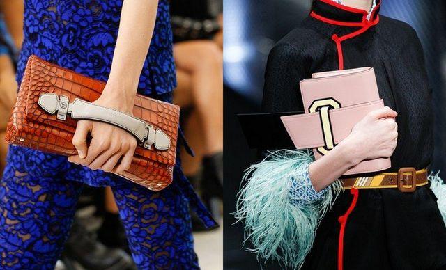 Genti plic pentru femei, la moda in sezonul primavara vara 2017